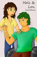 Hols and Lon by Phoneix-Faerie