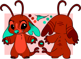 Experiment ''Rusty'' Reference Sheet by SpunkyRacoon