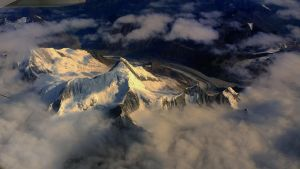 Golden mountain by laogephoto