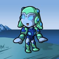 Commission - Aquablast by MattMoylan