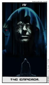 Star Wars Tarot: The Emperor by theory-of-everything