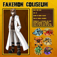 Fakemon Coliseum: Gym leader 4 -  Orec by MTC-Studio