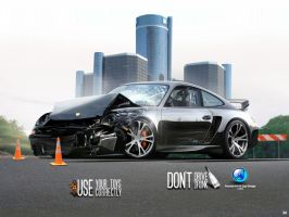 Porsche 911 Crash by CapiDesign
