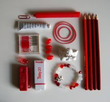 Red And White. by Lilino