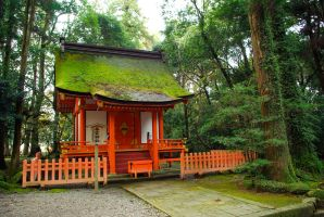 Shrines : Temple Building 08 by taeliac-stock