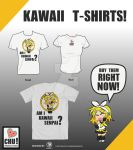 Kawaii T-shirts! by Lehvorak
