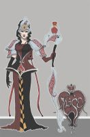 Queen of Hearts Rewondered by Awkwardly-Social