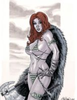 Red Sonja Commission 01 by John-Stinsman