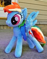 ::-Talking Rainbow Dash Plush - CUSTOM-:: by Soft-Sensations