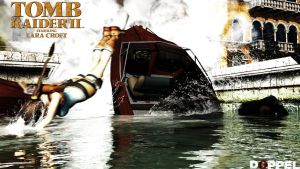 Tomb raider 2: Mine explosion by doppeL-zgz