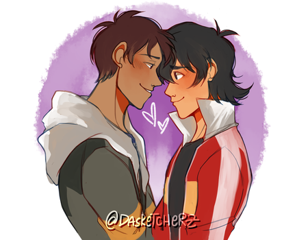 Klance: Ice and Fire by DAsKeTcHeRZ
