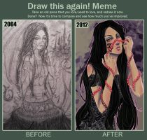 Draw it again:2004-2012 by MahaAsh