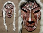 Ancient Mask by illmatar