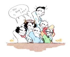 Group reaction by AKHTS