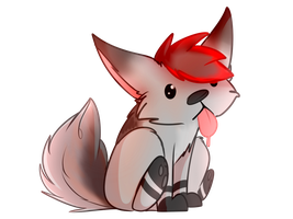 .:YCH:. Mythic-Fox by ShrimpyMiyo