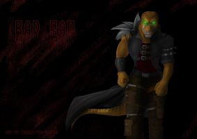 BadRap by Tiamat-the-Raptor by Extreme-Dinosaurs