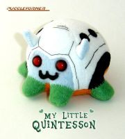 Puggleformer - My Little Quint by callykarishokka