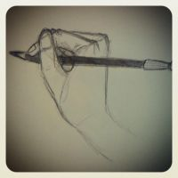 Hand Sketch 2 by BrightenYourSmile