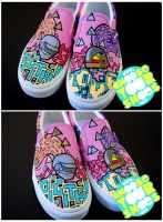 digital love shoes by mburk