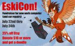 EskiCon - fundraiser for new work computer by KatieHofgard