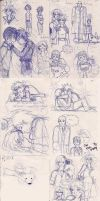 Artemis Fowl Sketches SPOILERS by Whisp3rHeart