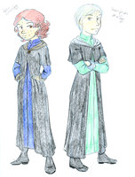 A Weasley and a Malfoy by KatChan00