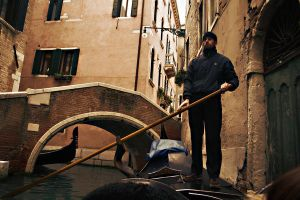 The Gondolier by Flanegan