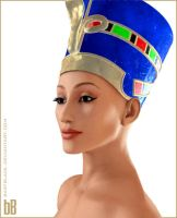 Nefertiti by bastblack