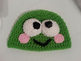 Keroppi the Frog Beanie Hat by crafterchick