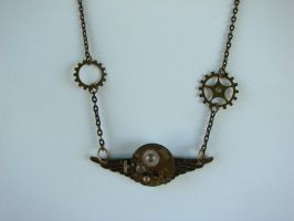 Steampunk Time Flies View 2 by FusedElegance