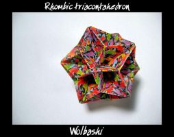 Rhombic triacontahedron by wolbashi