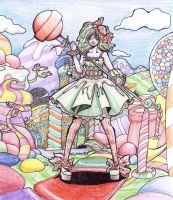 The Warrior from Candyland by Malichan121