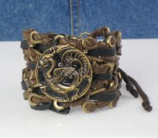 Leathers for my wrist by bchurch