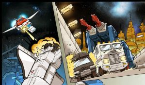 Transformers Lost Season colour preview by PiusInk