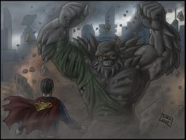 Superman-Doomsday by Niggaz4life