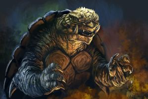 Gamera 2015-16 by Grimbro