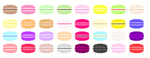 macaron palette by chocolaitable