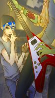 Band Practice by AlvrexADPot