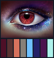 palette eye by whoyourenemy
