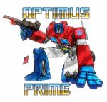 Optimus Prime by channandeller