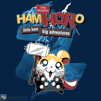 'Mighty Hamthoro' by GillesBone by Teebusters