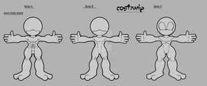 Sonic Body Style References by darkzero779