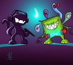Monstercat vs. Feed Me by TheRisingSoul