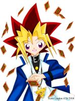 YGO - Yugi's Card Play by yukito-chan
