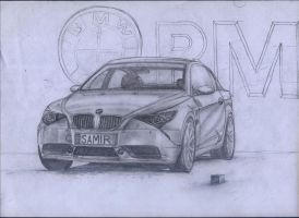 bmw sketch Sparkles-splashxxz2 by artsoni