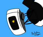 Unamused Glados (commission) by ninaqueenbee