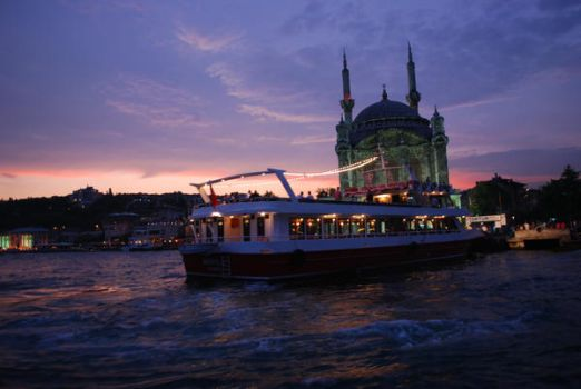 Sunset at Bosphorus I by gizemtopkara