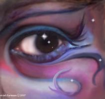 Cosmic Eye by eviebaby723
