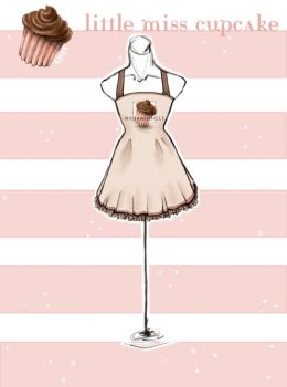 .Little Miss Cupcake Dress. by Lii-chan