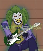 Joker on guitar by 1Bitter1SugarMixed